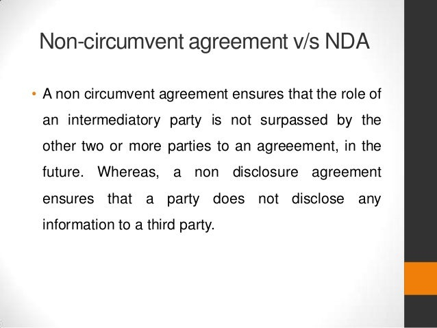 Non Disclosure Agreement Nda