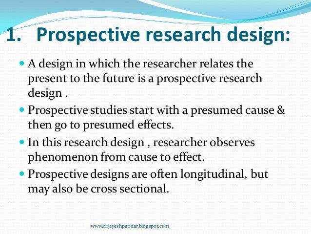 Prospective study design definition home design ideas for Define household design