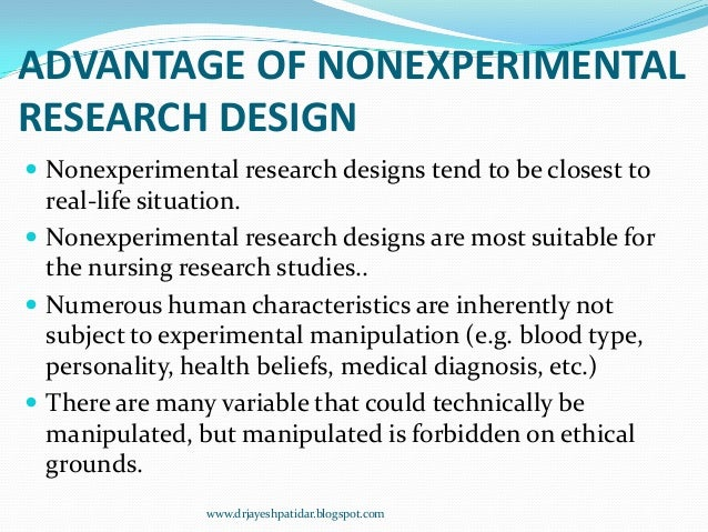 disadvantages of experimental research Start studying topic 5: experimental research design learn vocabulary, terms, and more with flashcards, games, and other study tools.