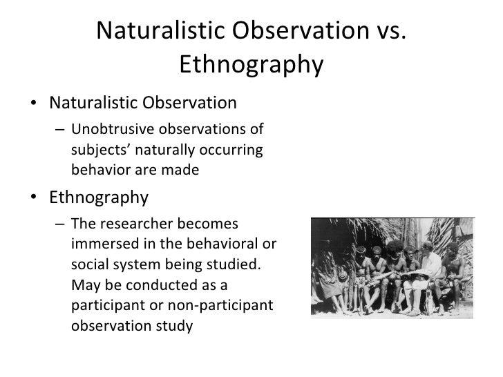 infantearly childhood naturalistic observation essay