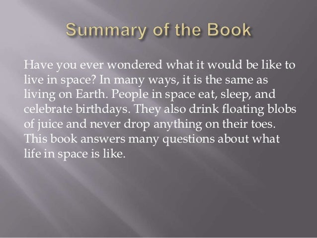 Nonfiction Book Report Example