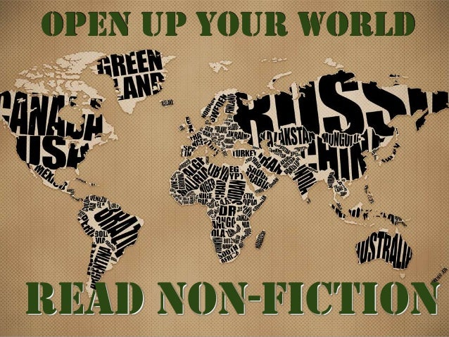 Open Up Your World  Read Non-Fiction