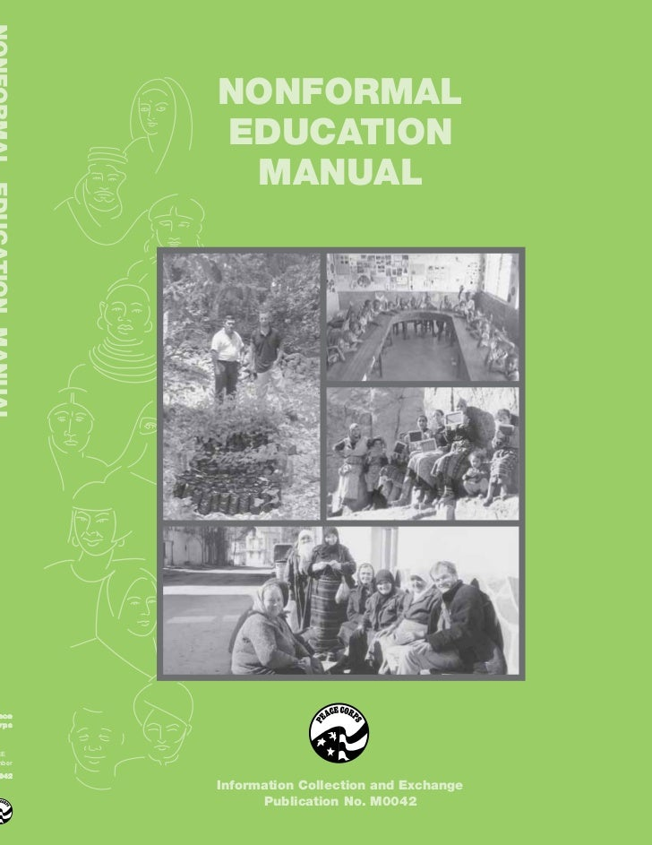 NONFORMAL       EDUCATION        MANUALacerpsCEmber042       Information Collection and Exchange             Publication N...