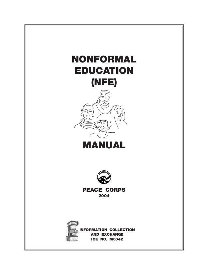 Nonformal Education Manual (Part I)