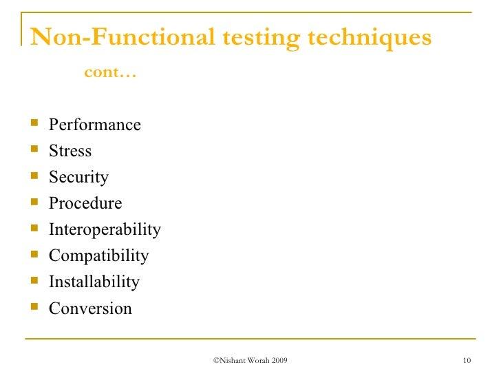 Dynamic Testing Process