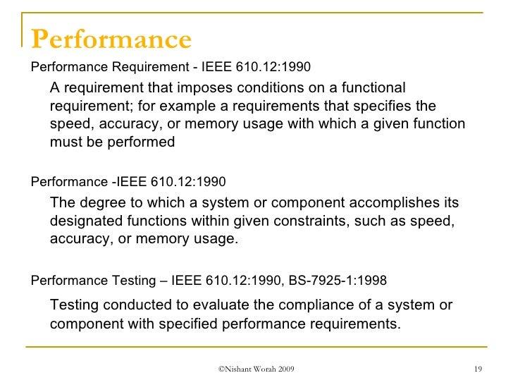 non functional testing