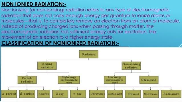Non ionized radiation monitoring