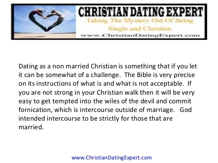 Christian friend dating non christian