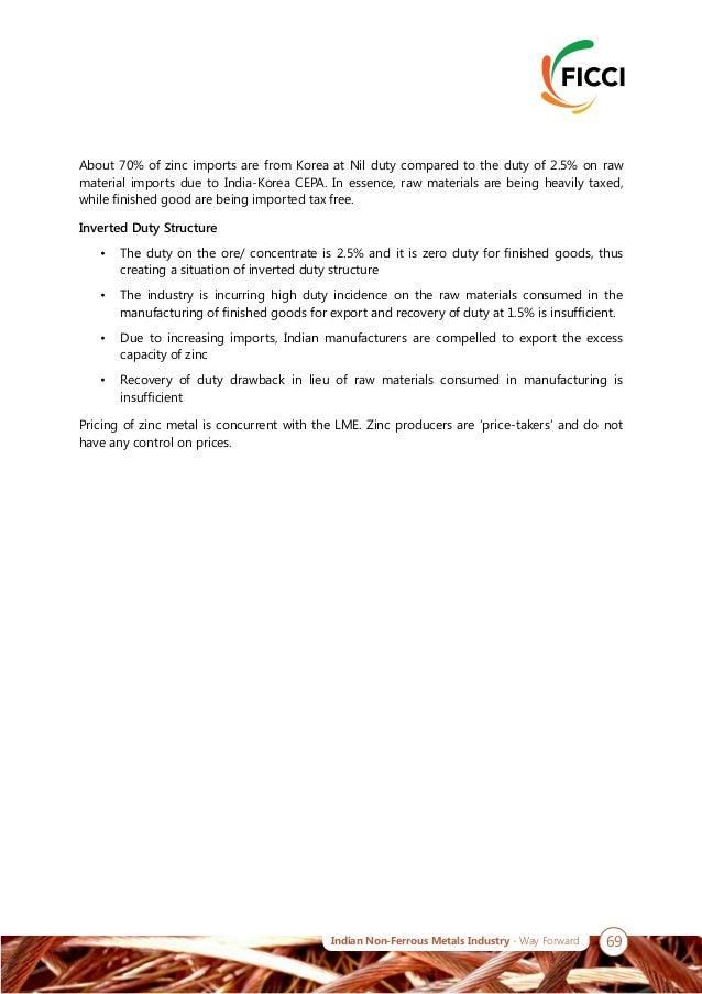 FICCI-Avalon Non-ferrous Metals industry report 2018