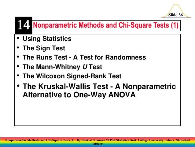 anova and nonparametric tests essay In business today, people can all appreciate customer satisfaction, employee involvement, and continuous improvement in order to ensure quality, they are able to utilize a statistical tool in operations research and total quality management, known as analysis of variance (anova) or the kruskal-wallis test.