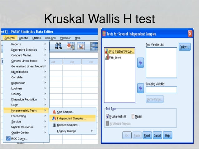 applying anova and nonparametric test We now discuss another nonparametric test, the kruskal-wallis test,  by applying the wilcoxon-mann-whitney test  repeated measures anova: friedman test.
