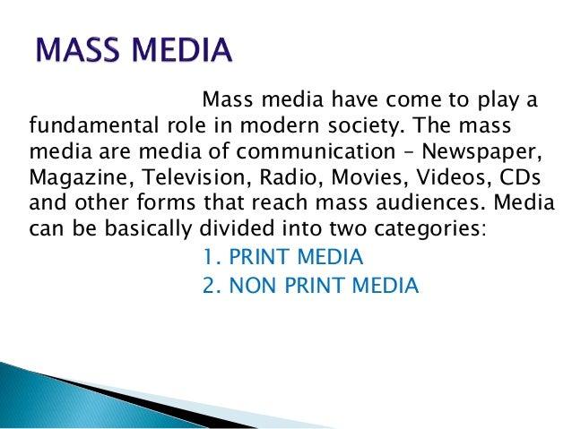 Non Print Media
