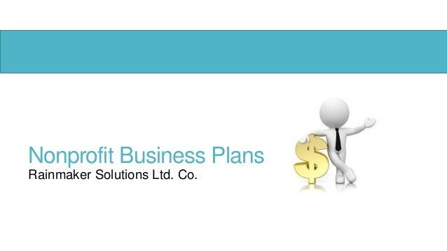 Nonprofit Business PlansRainmaker Solutions Ltd. Co.