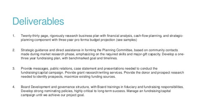 sample business plan for non profit