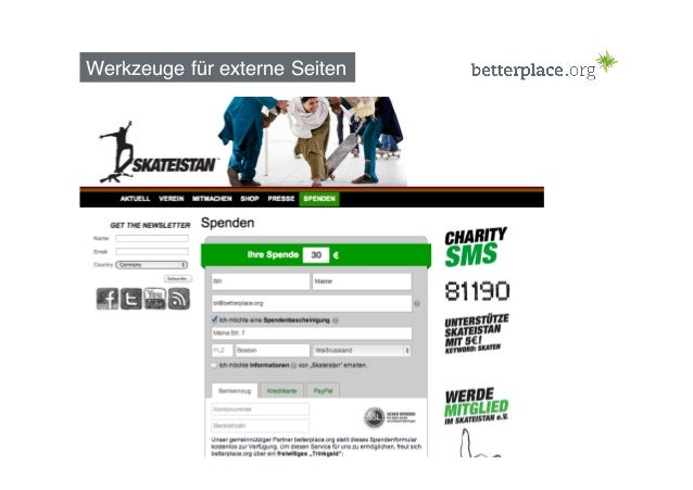 koeln.betterplace.org (seit Herbst 2013) 20
