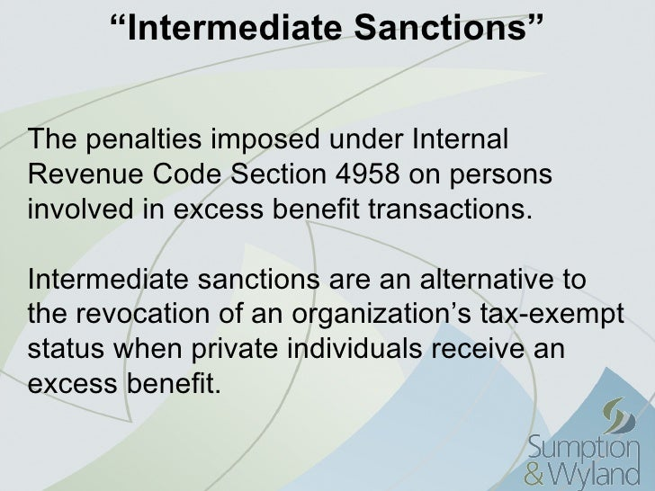 essay what are intermediate sanctions Learn about what constitutes intermediate sanctions and the types that exist  examine the pros of intermediate sanctions and contrast them with the.