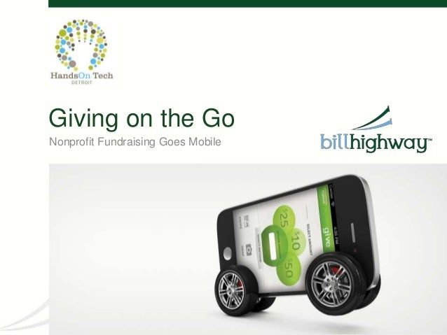 Giving on the GoNonprofit Fundraising Goes Mobile