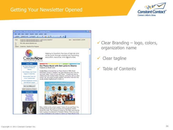 Nonprofit Newsletters New