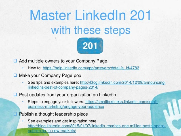 Master LinkedIn 201 with these steps  Add multiple owners to your Company Page • How to: https://help.linkedin.com/app/an...