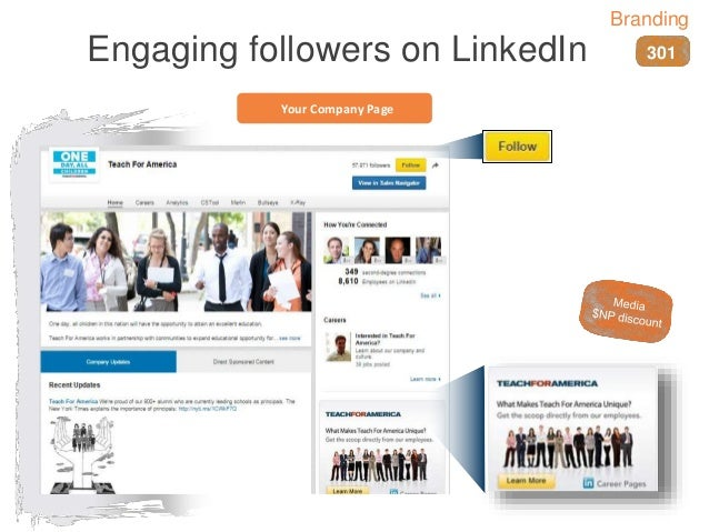 Your Company Page Engaging followers on LinkedIn 301 Branding