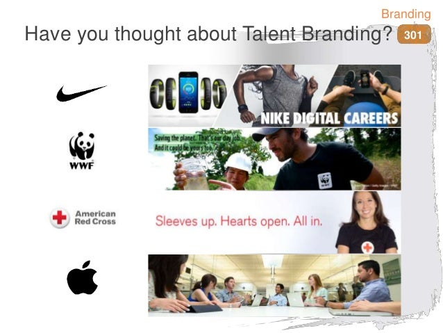 Have you thought about Talent Branding? 301 Branding