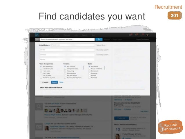 Find candidates you want 301 Recruitment