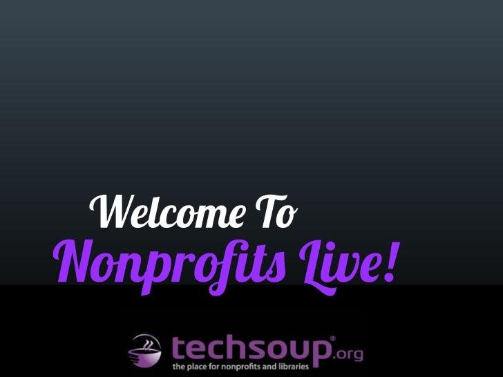 Nonprofits Live: Collaboration