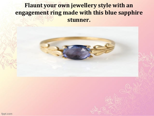 Non traditional engagement rings for women