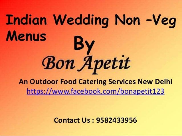 Indian Wedding Non Veg Food Menu