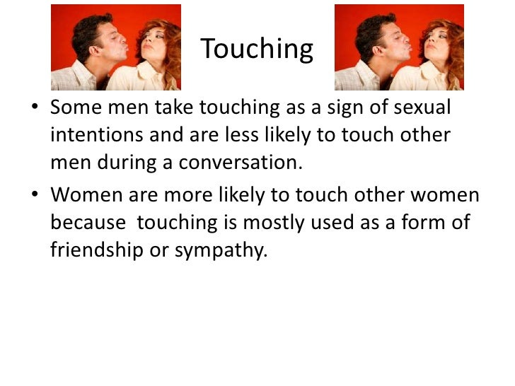 female non verbal communication attraction