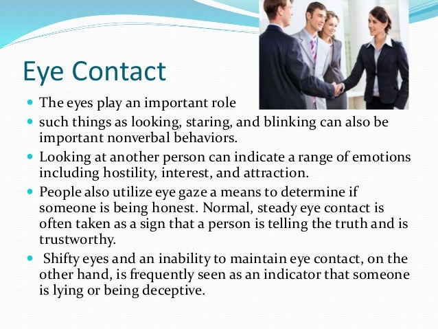 nonverbal communication is important Nonverbal communication is the process of sending and receiving  in other  words, how we say something is often more important than what.