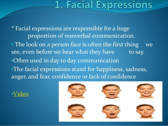professionalism nonverbal communication and facial expressions The dental surgery is a place where professional communication usually   most laymen think that non-verbal communication means facial expressions, ie  the.