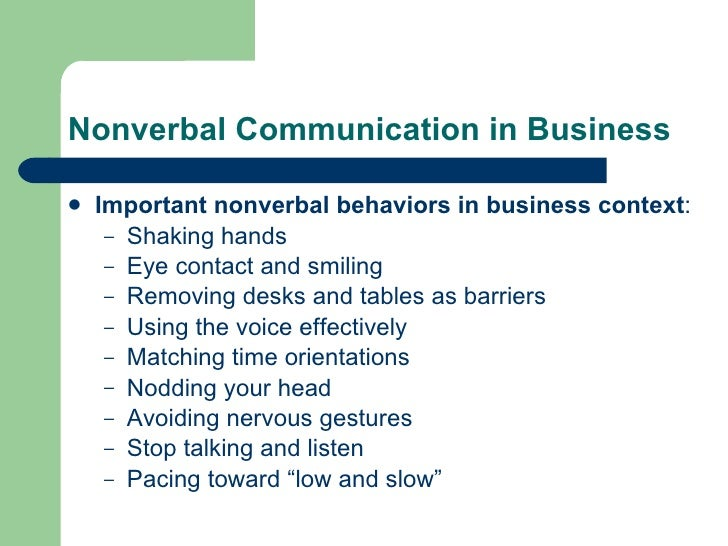 nonverbal communication and factors influencing an individuals behavior Nonverbal communication, symbolic meaning, intentionally all the messages that people transmit through means other than words it is a type of nonverbal behavior that has does not have to read more chapter 6: nonverbal communication.