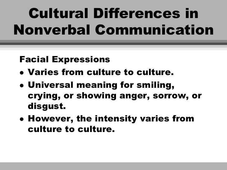 nonverbal communication in ukraine Edward t hall and the history of intercultural communication:  hall himself did for human behavior through his study of nonverbal communication.