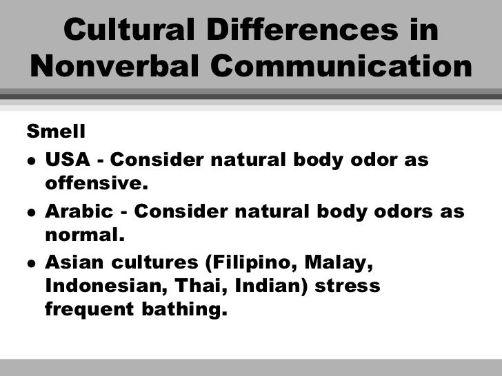 nonverbal communication in arabs culture (cultural, 2006, p272)shorter and smoother path to the brain from the ear to the brain they say that muslim and non-verbal communication.