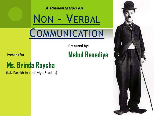 Accessibility of Non-verbal Communication