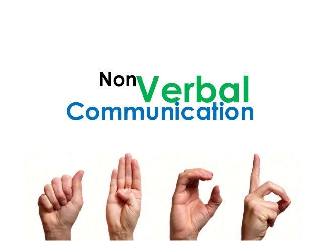Non Communication Verbal