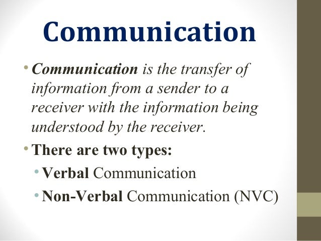 Non Verbal Communication Types and Features Slide 3