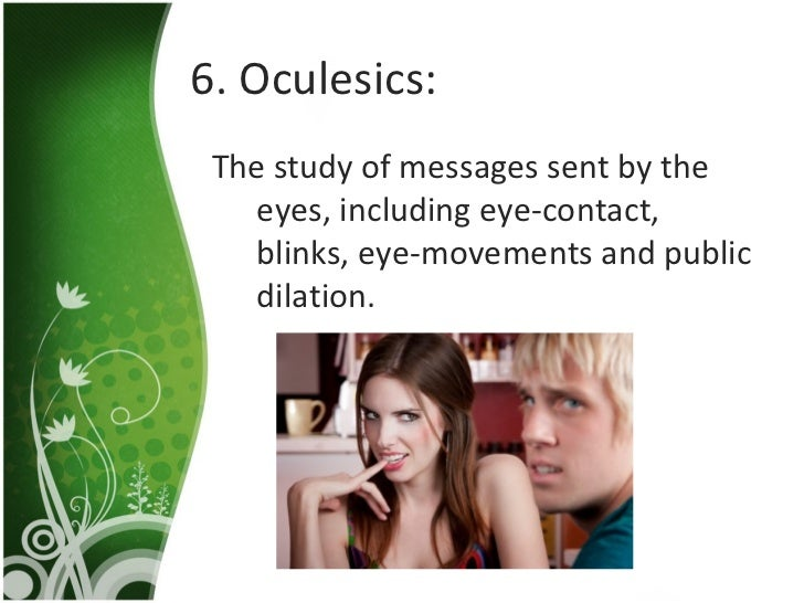 oculesics