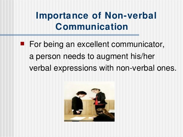 non verbal communication 1 1 behavior and elements of speech aside from the words themselves that  transmit meaning non-verbal communication includes pitch, speed, tone and  volume.