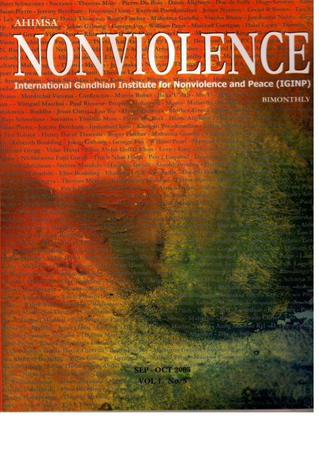 AHIMSA-Nonviolence