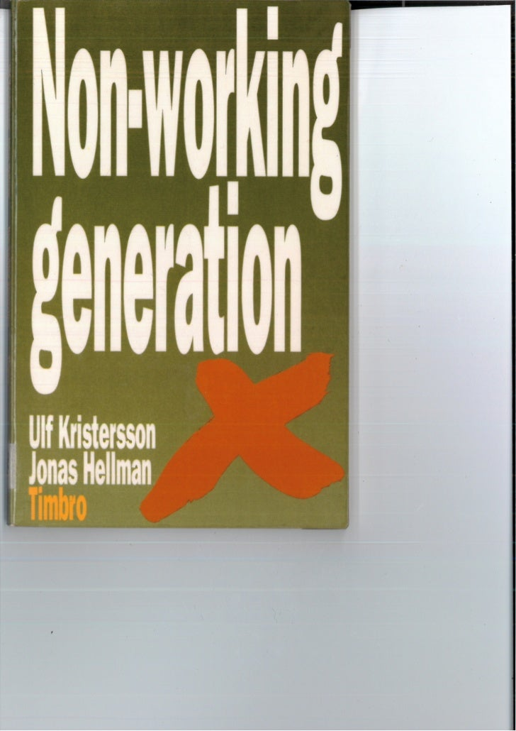 Non working generation   utdrag