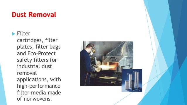 Special Filtration  •  Respirators  •  Vacuum cleaners  •  Kitchen hood filters