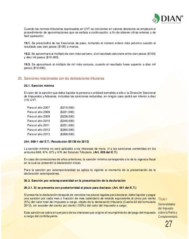 RESOLUCION 19 DE 2012 DIAN EPUB