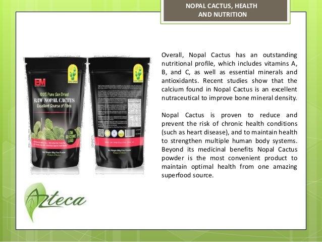 Nopal Cactus Powder
