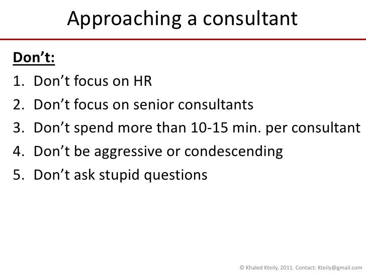 How To List Consulting Work On Resume No Major Accomplishments
