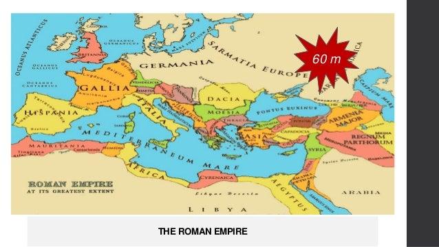 THE ROMAN EMPIRE 60 m