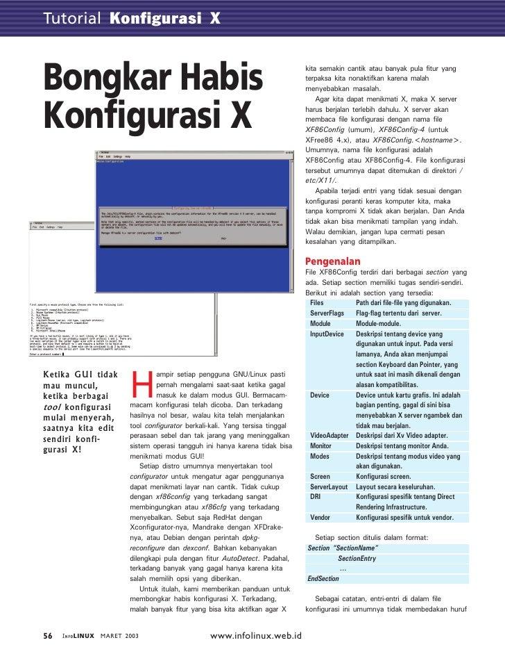 Tutorial GTK          Konfigurasi X    Bongkar Habis                                                                kita s...