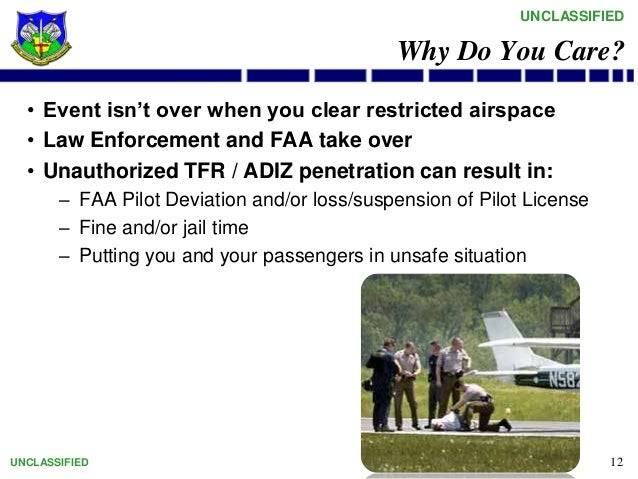 Faa adiz penetration enforcement