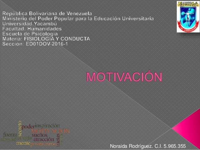 Noraida Rodríguez. C.I. 5.965.355